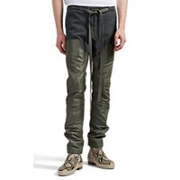 Fear Of God Cotton Denim And Tech Fabric Work Pants Multi