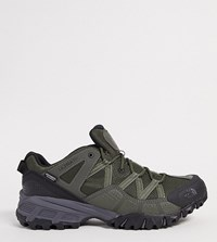 The North Face Ultra 111 Trainers In Green Black