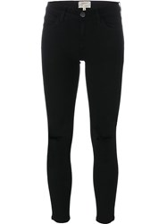 Current Elliott Cropped Trousers Black