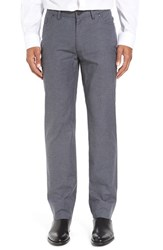 Vince Camuto Men's Sraight Leg Five Pocket Stretch Pants Charcoal Check