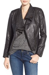 Blank Nyc Women's Blanknyc 'Pre Party Nerves' Faux Leather Crop Jacket