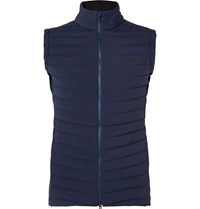 Kjus Macun Insulator Slim Fit Quilted Gilet Blue