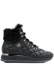 Baldinini Trim Detail Quilted Boots 60