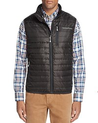 Vineyard Vines Mountain Weekend Quilted Vest Squall Gray