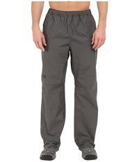 The North Face Venture 1 2 Zip Pant Asphalt Grey Heather Men's Casual Pants Gray