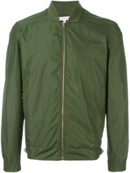 Orlebar Brown 'Fairley' Bomber Jacket Green