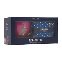 Joules Sock And Mug Gift Set Let Your Hare Down