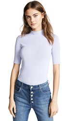 Edition10 Open Back Sweater Lavender Fog