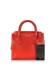 Dsquared2 Handbags Deana Small Red Leather Satchel