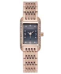 Charter Club Rose Gold Tone Bracelet Watch 12X19mm Only At Macy's
