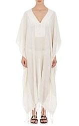 Su Jimba Cotton Long Caftan Nude