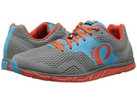 Pearl Izumi Em Road N 0 Grey Blue Atoll Men's Running Shoes Gray