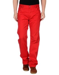 Hugo Casual Pants Red