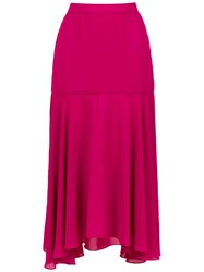 Olympiah Primosole Midi Skirt Pink And Purple