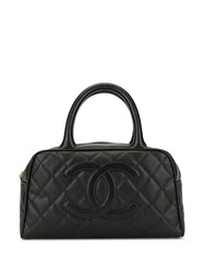 Chanel Pre Owned Mini Boston Tote 60
