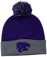 Top Of The World Kansas State Wildcats 2 Tone Pom Knit Hat