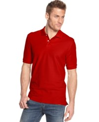 Club Room Big And Tall Men's Polo Shirt Only At Macy's Fire