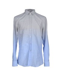 Dirk Bikkembergs Shirts Shirts Men Light Grey
