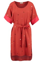 Stine Goya Smilla Summer Dress Spice Red