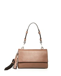 Max Mara Leather Shoulder Bag Beige