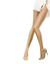 Pretty Polly The Naturals Oiled Tights Beige