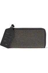 Mcq By Alexander Mcqueen Studded Leather Wallet Black