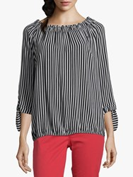 Betty Barclay Ruched Neck Shirt Multi