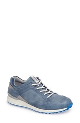 Ecco Women's Speed Hybrid Golf Sneaker Poseidon Poseidon Leather