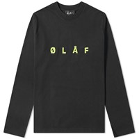 Olaf Hussein Long Sleeve Sans Tee Black