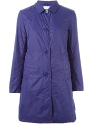 Aspesi 'Sarago' Raincoat Pink And Purple