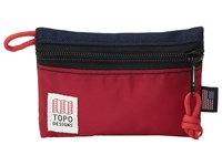 Topo Designs Micro Accessory Bags Navy Red Bags Multi