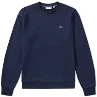 Lacoste Fleece Crew Sweat Blue