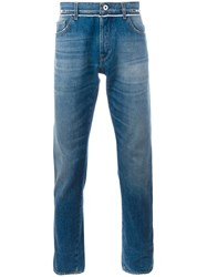 Valentino Rockstud Untitled Slim Fit Jeans Blue