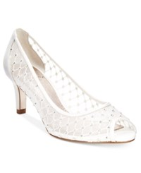 Adrianna Papell Jamie Evening Pumps Women's Shoes Ivory