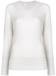 Lamberto Losani Round Neck Sweater Nude And Neutrals