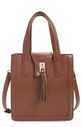 Sole Society 'Mini Hayes' Structured Faux Leather Tote