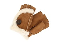 Ugg Mini Bailey Fingerless Glove Chestnut Dress Gloves Brown