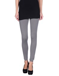Kangra Cashmere Trousers Leggings Women Grey