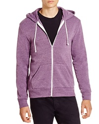 Alternative Apparel Alternative Fleece Zip Hoodie Purple