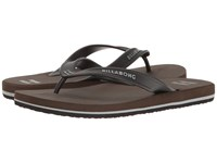 Billabong All Day Solid Sandal Chocolate Men's Sandals Brown