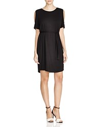 Prive Cold Shoulder Dress 100 Bloomingdale's Exclusive Black