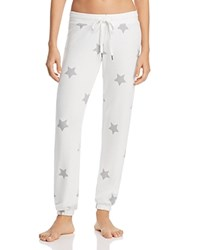 Pj Salvage Star Light Jogger Pants Natural