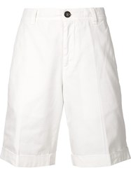Brunello Cucinelli Bermuda Shorts White