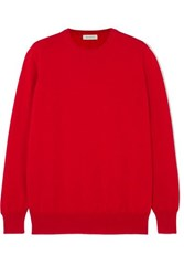 Anddaughter Laragh Cashmere Sweater Red