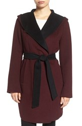 Michael Michael Kors Women's Double Face Hooded Wrap Coat