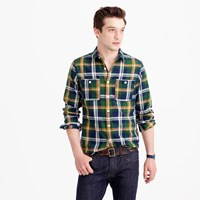 J.Crew Midweight Flannel Shirt In Multicolor Plaid