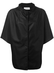Gianluca Capannolo Short Sleeve Rain Jacket Black