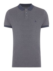 Criminal Donny Textured Polo Slim Fit Polo Shirt Grey Marl