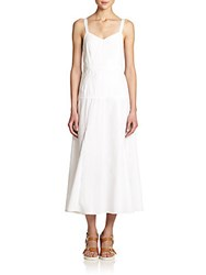 Rag And Bone Jade Cotton Maxi Dress White
