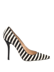 Oscar De La Renta Stacy Striped Calf Hair Pumps